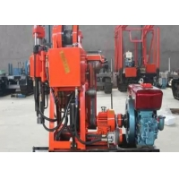 Buy cheap Small Water Well Borehole Drilling Rig GK-200 Color Customized With Hydraulic Feeding from wholesalers