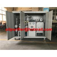 Buy cheap Hot ! Transformer Oil Filtration Plant, MIneral Dielectric Insulator Oil Purification Machine with weather-proof canopy from wholesalers