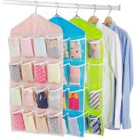 Buy cheap Non Woven Fabric Shoe Storage Bags Hanging Shoe Rack Good Breathability from wholesalers