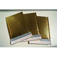 Buy cheap Oil Resistant Metallic Jiffy Bags , Gold Padded Envelopes 115x210mm #B from wholesalers