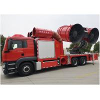 Buy cheap Rear suspension 2750mm Fire Fighting Truck Euro 5 Emission 9593 kg Chassis weight product