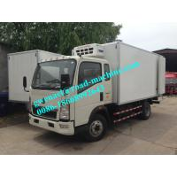 Buy cheap Refrigerator Truck Light Duty Commercial Trucks -18°c Temperature from wholesalers