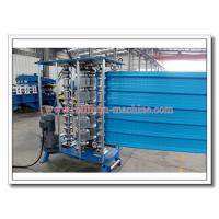China Steel & Aluminium Bull-nosing Roofing Sheet Crimping Machine for Corrugated or IBR Profile on sale