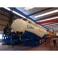 Buy cheap CIMC 70cbm bulk cement tank semi trailer , bulk cement semi trailer for sale from wholesalers