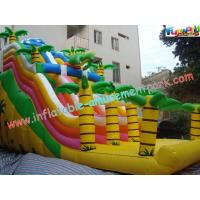 Buy cheap PVC Tarpaulin Giant Dinosaur PVC Dry Commercial Inflatable Slide With Customised product