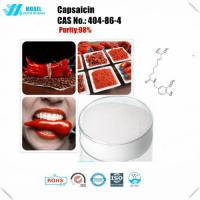 Buy cheap GMP Factory Supply Fat Burning Powder 100% natural Capsicum , Capsaicine , chili pepper Extract from wholesalers