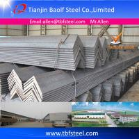Buy cheap ASTM A36 JIS3192 SS400 Q234 S235JR Hot Rolled 2x2 inch Angle Iron from wholesalers