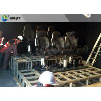 Buy cheap Motion Cinema 5D Simulation System Customized Size 7100 X 3100 X 3000 Mm 9 Seats from wholesalers
