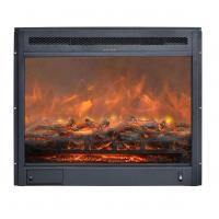 Buy cheap 23 insert electric stove real log LED flame effect GM2000-23 remote control built-in fireplace www.knsing.com from wholesalers