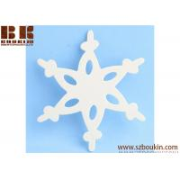 Buy cheap Unfinished Wood Lace Snowflake Cutout Christmas tree ornaments Holidays Gift Ornament from wholesalers
