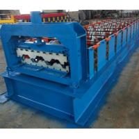 Buy cheap 15KW Floor Deck Roll Forming Machine For Metal Structural Building Construction from wholesalers