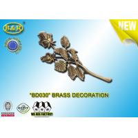 Buy cheap No . BD030 Brass Roses Bronze Funeral Decoration Size 23.5×11 Cm Material Copper Alloy from wholesalers