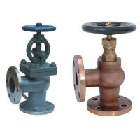 Buy cheap Screw Down None Return Valve Globe Design With Angle Type DN15 ~DN200 Size from wholesalers