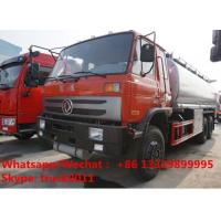 Buy cheap Factory sale best price DONGFENG 210hp 25CBM diesel fuel tank truck oil tanker lorry, HOT SALE! fuel tank truck from wholesalers