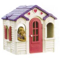 Buy cheap Outside Timber Child Play Garden Cubby House Chocolate Cottage for Boys from wholesalers