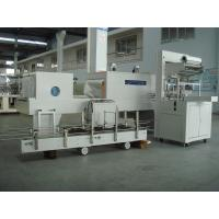 Buy cheap Industrial Automatic PE Film Shrink Wrapper Packaging Equipment for vinegar and soy sauce from wholesalers