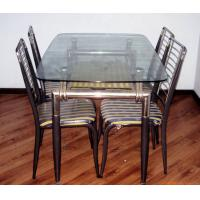 Buy cheap Float Dining Room Table Glass Top Rectangular Tempered , Heat Resistant 2250x 3300mm from wholesalers