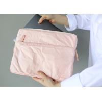 Buy cheap 13 Inch 135g Laptop Carrying Case Tearproof Recyclable Pink / Khaki Color from wholesalers
