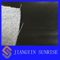 Buy cheap Waterproof Black Car Upholstery Leather PU Synthetic Leather Fabric With EN from wholesalers