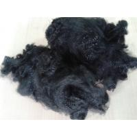 Buy cheap 3dx51mm close virgin polyester staple fiber in jet black color for non woven product
