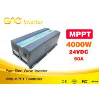 Buy cheap Solar PV inverter off grid DC AC solar power inverter 4000w 24v with MPPT controller from wholesalers