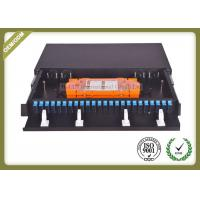 Buy cheap 48 Core 1U Type Fiber Optic Patch Panel Slidable ODF For SC Adapter Port from wholesalers