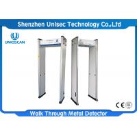Buy cheap Body Temperature Scanner Walk Through Metal Detector For Hospital / Public Place from wholesalers