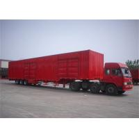 Buy cheap 30 ton 3 axles cargo van transport Box Semi Trailer Goose - neck from wholesalers