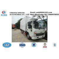 Buy cheap 2020s JAC brand 3-5tons cold room truck with US CARRIER reefer for sale, factory sale best price JAC refrigerated truck from wholesalers