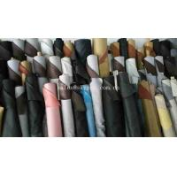 Buy cheap Solid Colors Non - woven Backing Synthetic Leather PU Leather with Colorful Printed Fabric from wholesalers