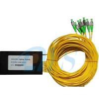 Buy cheap 1x16 PLC Optical Fiber Splitter Low Insertion Loss With 1260nm - 1650nm Wavelength from wholesalers