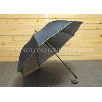 Buy cheap Strong Self Opening Curved Handle Umbrella With Logo Priting 190T Fabric Material product