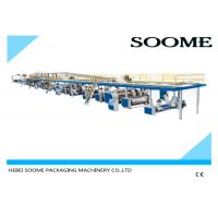 Buy cheap Fully automatic corrugated carton box 3 ply production line making machine 1800 mm from wholesalers