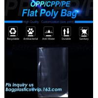China clear opp/cpp three side seal bag for beans,biscuits,cookies,pp cpp self-adhesive poly bag with glue tape,CPP BOPP plast on sale