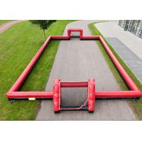 Buy cheap Outdoor Interactive Inflatable Sports Toys 0.55mm PVC Football Arena Playground from wholesalers