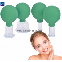Buy cheap 55mm Medical Grade Glass PVC Massage Cupping Cup Set from wholesalers
