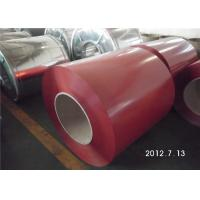 Buy cheap Color Coated Surface PPGL Coil / Painted Aluminum Coil  Fire Resistance from wholesalers