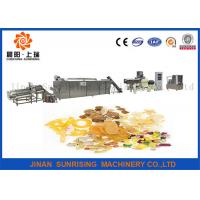 Buy cheap Long Performance Automatic Snack Food Extruder Machine Corn / Wheat Flour Raw Materials from wholesalers