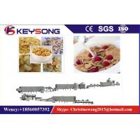 Buy cheap High Automatic Corn Flake Making Machine , Breakfast Cereal Processing Line from wholesalers