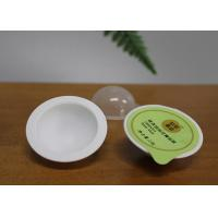 Buy cheap Round Plastic Mini Capsule Pack For Powder Lotion Volumn 8g White Color from wholesalers