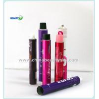 Buy cheap Empt Soft Collapsible Aluminum Tubes for hair dye cream packaging with Screw Cap, 50~100ml from wholesalers