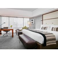 Buy cheap Solid Wood Hotel Bedroom Furniture Sets Laminated Particle Board from wholesalers