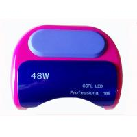 Buy cheap Rose Red Led Nail UV Lamp With Sensor / Led UV Lamps For Nails product