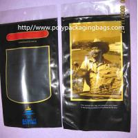 Buy cheap Plastic Printed PET + LDPE Cigar Fresh  Packaging Bags with Sponge with humidified system inside from wholesalers