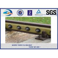 Buy cheap Plain Oiled 45 Steel Fish Plate Joint 4 Holes 6 Holes for UIC60 BS75R from wholesalers