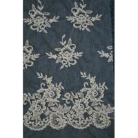 Buy cheap Ivory   Embroidery Lace Fabric for Wedding Dress Hot Sale from wholesalers