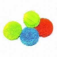 Buy cheap Chenille Cleaning Pads, Polyamide, Used for Dry, Spic and Span Cleaning Products, Microfiber Pocket from wholesalers