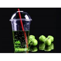 Buy cheap PP Material Clear Plastic Iced Coffee Cups For Bubble Boba Tea Simple Design from wholesalers