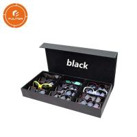 Buy cheap Environmentally friendly gift box with lid magnetic case for sunglasses packaging from wholesalers