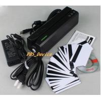 Quality Wholesales high 3TrackS MSR605 Magnetic Stripe Card Reader Writer Swipe Credit & Debit Card MSRE606 with 20 blank Cards for sale